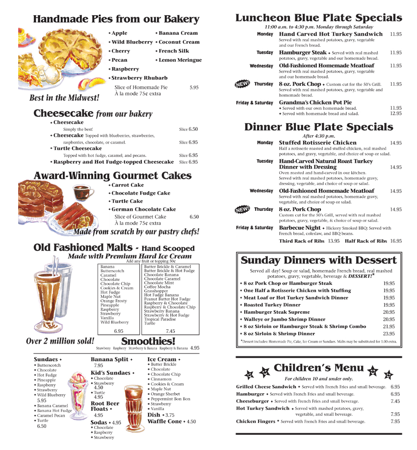 Menu2_desserts starters and beverages_If you cannot view this image see the pdf on this page